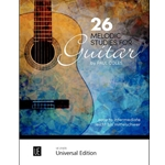 26 Melodic Studies for Guitar  Coles