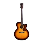 Guild F-250CE, Jumbo Acoustic Guitar, Antique Burst