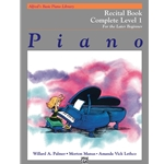 Alfred's Basic Piano Library: Recital Book Complete Level 1