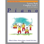 Alfred's Basic Piano Library: Technic Book Complete Level 1