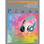 Alfred's Basic Piano Library: Popular Hits Book Complete Level 1