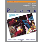 Alfred's Basic Piano Library: Fun Book Complete Level 1