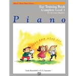 Alfred's Basic Piano Library: Ear Training Book Complete Level 1