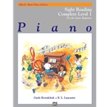 Alfred's Basic Piano Library: Sight Reading Book Complete Level 1