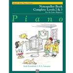 Alfred's Basic Piano Library: Notespeller Book Complete Levels 2 & 3