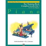 Alfred's Basic Piano Library: Ear Training Book Complete Levels 2 & 3