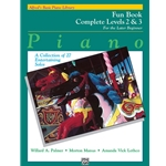 Alfred's Basic Piano Library: Fun Book Complete Levels 2 & 3