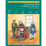 Alfred's Basic Piano Library: Composition Book Complete Levels 2 & 3
