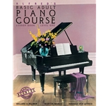 Alfred's Basic Adult Piano Course: Lesson Book 1 with CD
