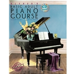 Alfred's Basic Adult Piano Course: Lesson Book 3 with CD