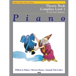 Alfred's Basic Piano Library: Theory Book Complete Level 1