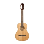 AGJAJC23NAT Jasmine 6 String Classical Guitar, Right Handed, Natural (JC23-NAT) 3/4 Size