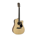 Alvarez Artist Series AD60CE Dreadnought Acoustic-Electric Guitar Natural