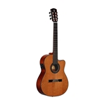 Alvarez Artist Series AC65HCE Classical Hybrid Acoustic-Electric Guitar Natural