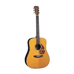 Blue Ridge BR-160CE Historic Series Cutaway Acoustic-Electric Dreadnaught Guitar with Case