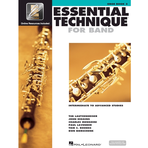 Essential Technique for Band - Oboe Book 3