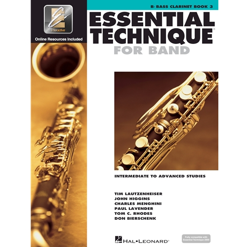 Essential Technique for Band - Bass Clarinet Book 3