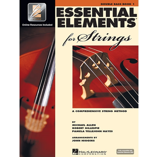 Essential Elements for Strings - Book 1 - Double Bass