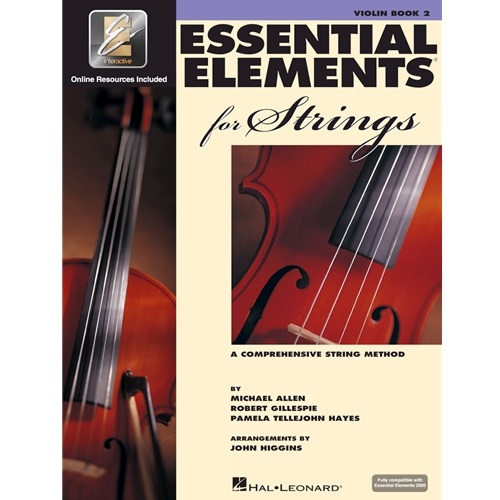 Essential Elements for Strings - Book 2 - Violin