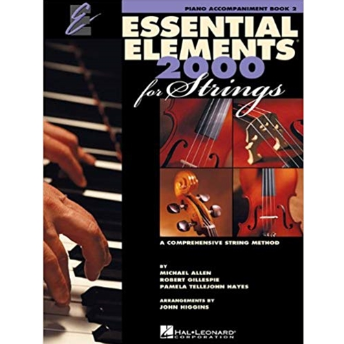 Essential Elements for Strings - Book  2 - Piano Accompaniment