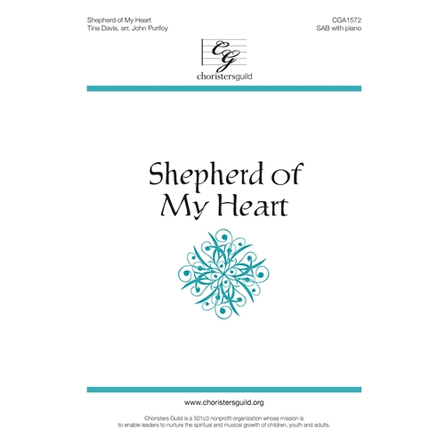 Shepherd of My Heart - Tina English, Arr. John Purifoy