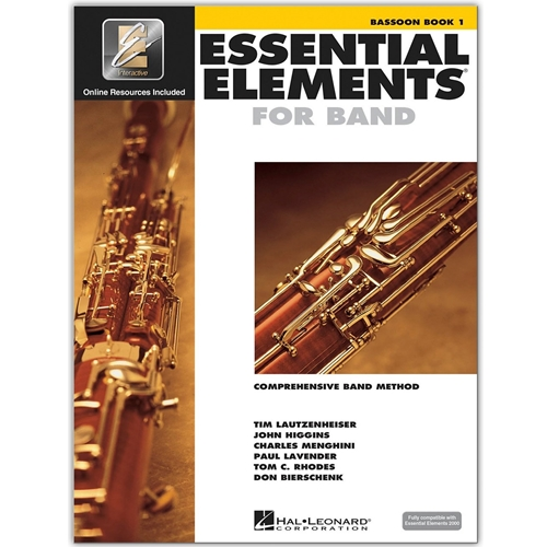 Essential Elements for Band - Bassoon Book 1