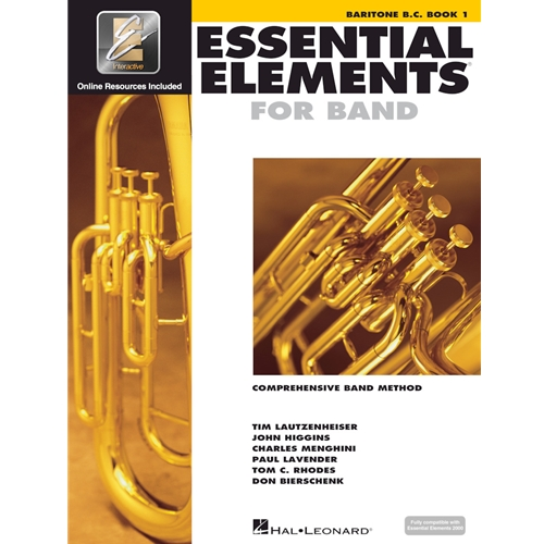 Essential Elements for Band - Baritone BC Book 1