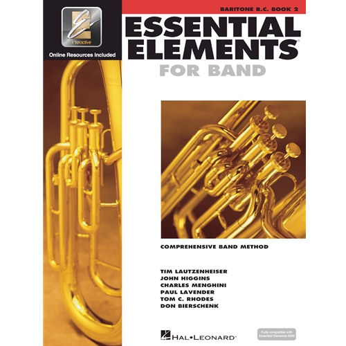 Essential Elements for Band - Baritone BC Book 2