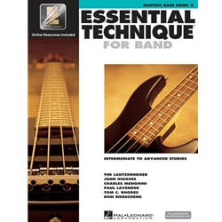 Essential Technique for Band - Book 3 - Electric Bass