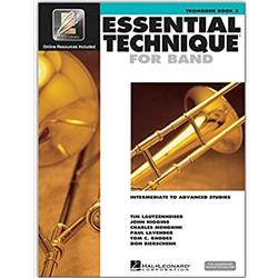 Essential Technique for Band - Book 3 - Trombone