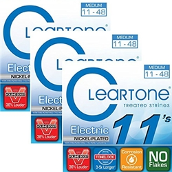 Cleartone Electric Guitar Strings - Medium - 9411 - 11-48
