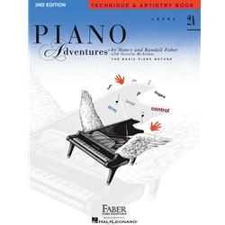 Piano Adventures - Level 2A - Technique & Artistry