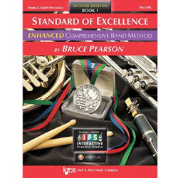Standard of Excellence - Book 1 - Drums & Mallet Percussion