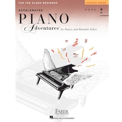 Accelerated Piano Adventures for the Older Beginner - Level 2 - Lesson