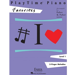 Piano Adventures - PlayTime 1 - Favorites