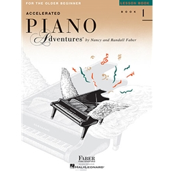 Accelerated Piano Adventures for the Older Beginner - Level 1 - Lesson