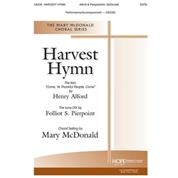 Harvest Hymn- Arr. Mary McDonald